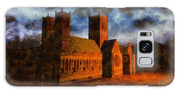 Anubis Galaxy Case - Lincoln Cathedral by Esoterica Art Agency