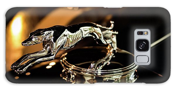 Lincoln Greyhound Hood Ornament Galaxy Case