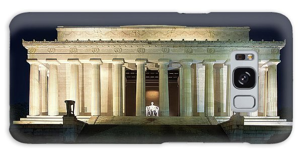 Lincoln Memorial Galaxy S8 Case - Lincoln Memorial At Twilight by Andrew Soundarajan