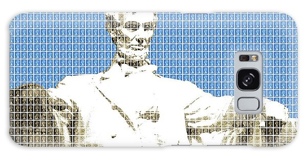 Us Civil War Galaxy Case - Lincoln Memorial - Blue by Gary Hogben