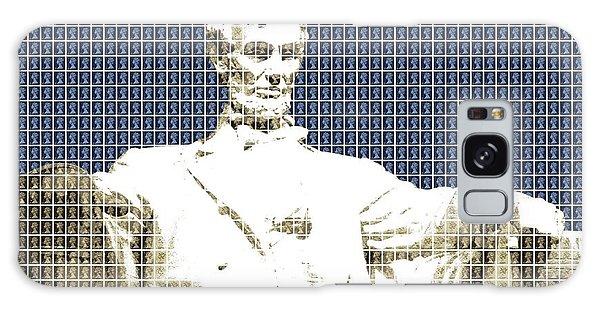 Us Civil War Galaxy Case - Lincoln Memorial - Dark Blue by Gary Hogben