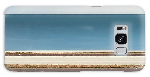 Lake Michigan Galaxy S8 Case - Lincoln Memorial Drive by Scott Norris
