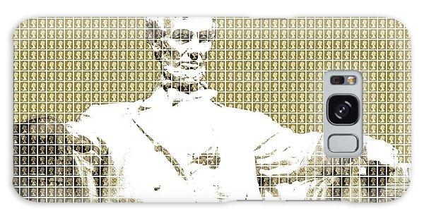 Us Civil War Galaxy Case - Lincoln Memorial - Gold by Gary Hogben