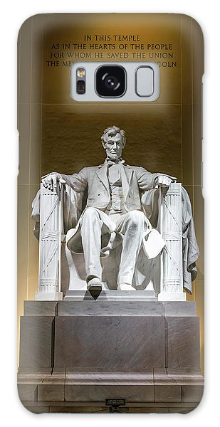National Monument Galaxy Case - Lincoln Memorial by Larry Marshall