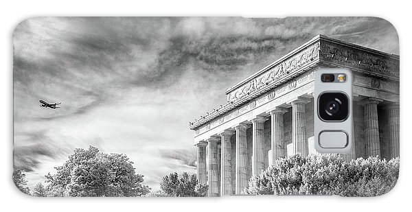 Lincoln Memorial Galaxy Case by Paul Seymour