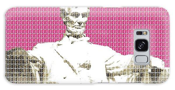 Us Civil War Galaxy Case - Lincoln Memorial - Pink by Gary Hogben