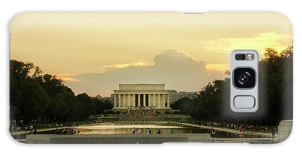 Lincoln Memorial Sunset Galaxy Case