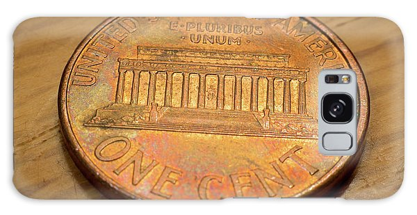 Lincoln Penny Galaxy Case