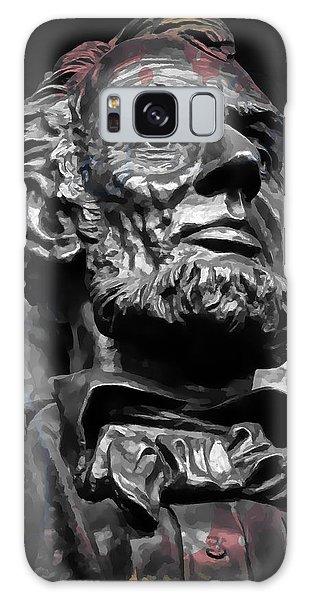 Us Civil War Galaxy Case - Lincoln Stoic by Daniel Hagerman