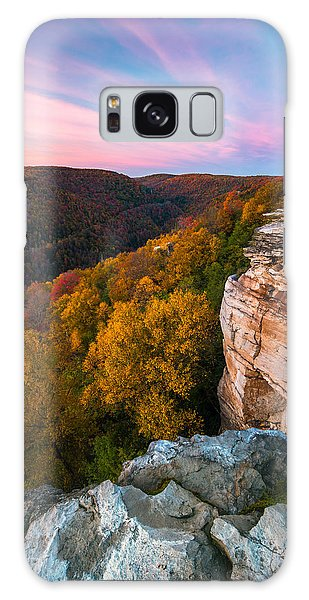 Lindy Point Overlook Fall Sunset Galaxy Case