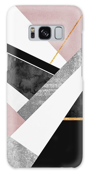 Layers Galaxy Case - Lines And Layers by Elisabeth Fredriksson