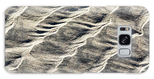 Lines On The Beach Galaxy Case