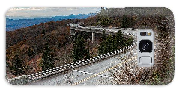 Linn Cove Viaduct Late Fall Galaxy Case