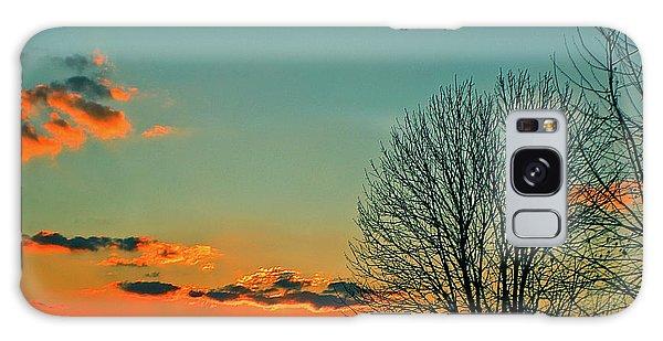Linvilla Sunset Galaxy Case by Sandy Moulder