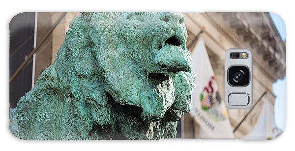 Art Institute Galaxy S8 Case - Lion Art Institute by Steve Gadomski