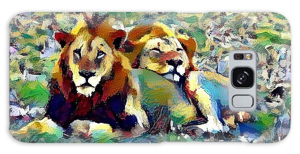 Lion Buddies Galaxy Case