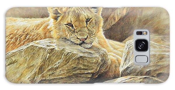 Lion Cub Study Galaxy Case