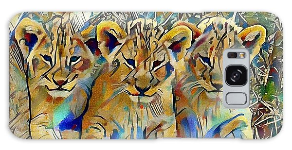 Lion Cubs Galaxy Case