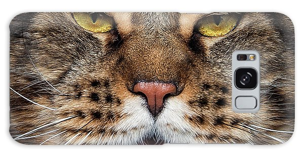 Tiger Face. Galaxy Case