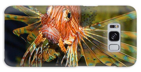 Lion Fish 2 Galaxy Case by Kathryn Meyer