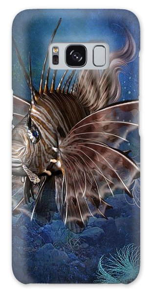 Lion Fish Galaxy Case