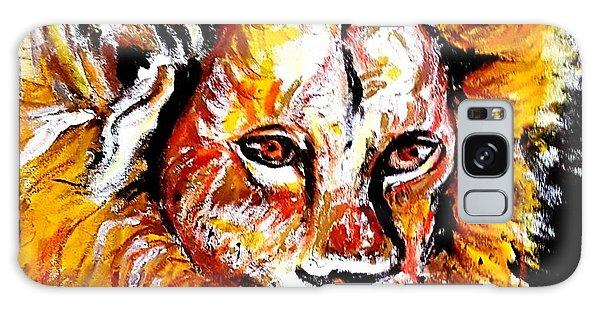 Lion  Galaxy Case