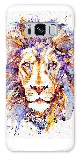 Lion Head Galaxy Case by Marian Voicu