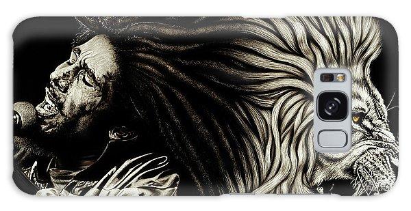 Lion Heart -bob Marley Galaxy Case