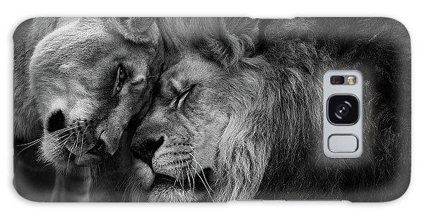 Lion In Love 2 Galaxy Case