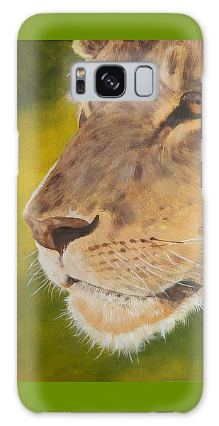 Lion Portrait Galaxy Case