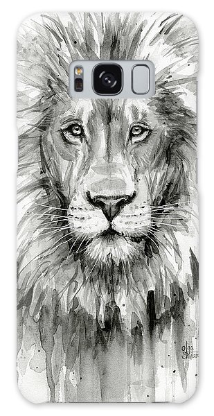 Lion Watercolor  Galaxy Case