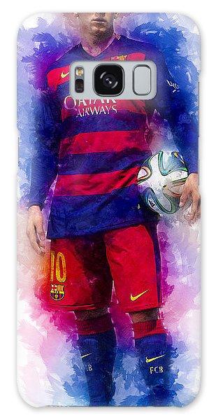Sportsman Galaxy Case - Lionel Messi by Ian Mitchell