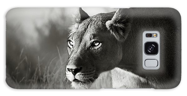 Wildlife Galaxy Case - Lioness Stalking by Johan Swanepoel