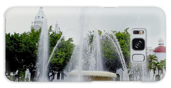 Lions Fountain, Ponce, Puerto Rico Galaxy Case