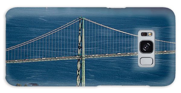 Lions Gate Bridge And Brockton Point Galaxy Case