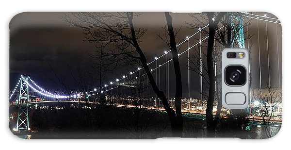 Lions Gate Bridge Galaxy Case