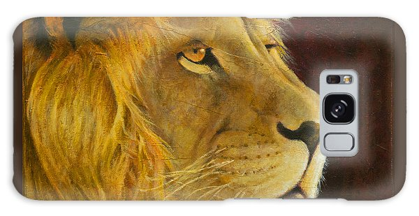 Lion's Gaze Galaxy Case