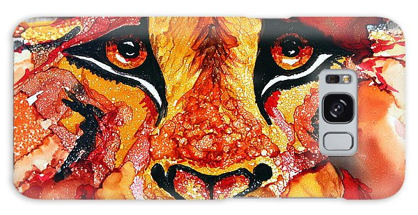 Lion's Head  Red Galaxy Case