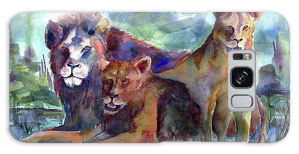 Lion's Play Galaxy Case