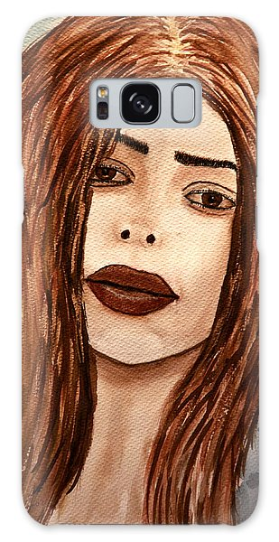 Lips's Lady. Galaxy Case