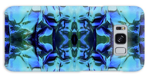 Galaxy Case featuring the digital art Liquid Abstract #0059-1 by Barbara Tristan