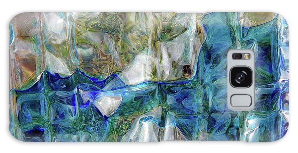Galaxy Case featuring the photograph Liquid Abstract #0061 by Barbara Tristan