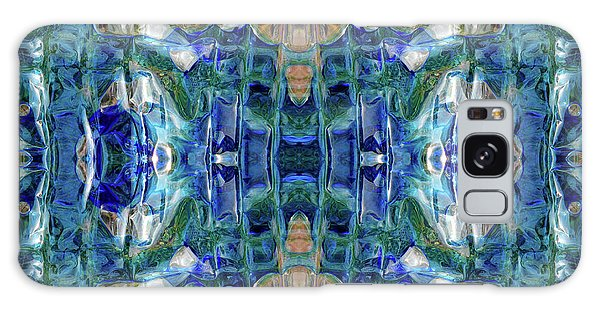 Galaxy Case featuring the digital art Liquid Abstract #0061_1 by Barbara Tristan