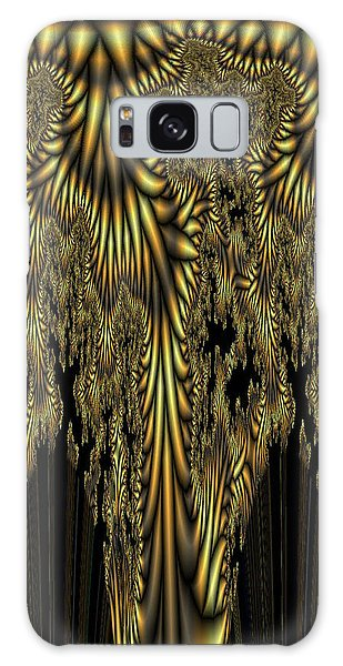 Liquid Gold Galaxy Case by Digital Art Cafe