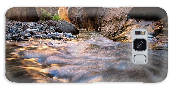 Liquid Gold Utah Adventure Landscape Photography By Kaylyn Franks Galaxy Case
