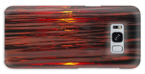 Liquid Sunset - Lake Geneva Wisconsin Galaxy Case