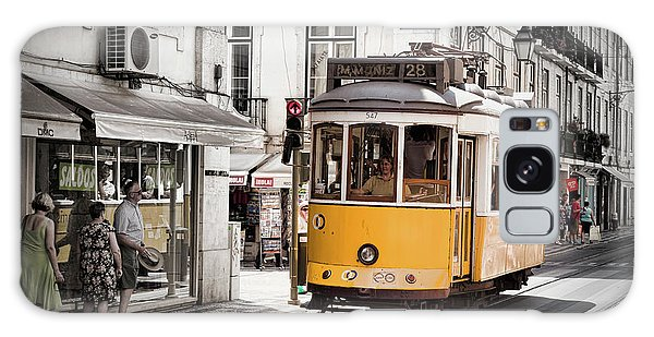 Lisboa Tram I Galaxy Case