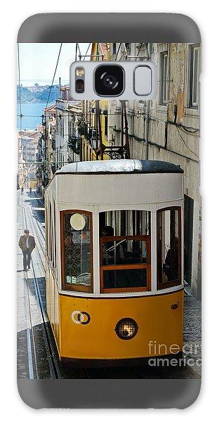 Lisbon - Portugal - Elevador Da Bica Galaxy Case