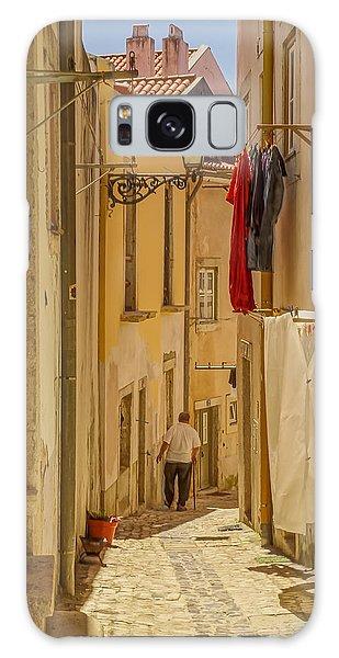 Lisbon Street # 1 Galaxy Case