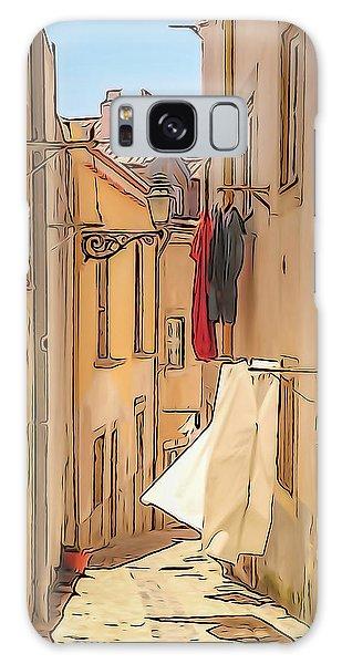 Lisbon Street #2 Galaxy Case